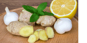 Lemon,Ginger,Garlic
